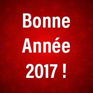 L'association des commerçants de l'Arche de Tours Nord vous présente ses meilleurs voeux pour 2017
