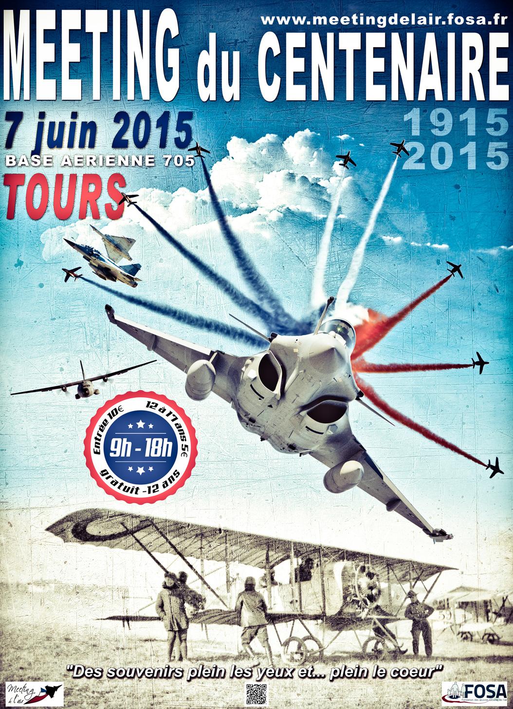 Meeting Aérien à Tours Nord