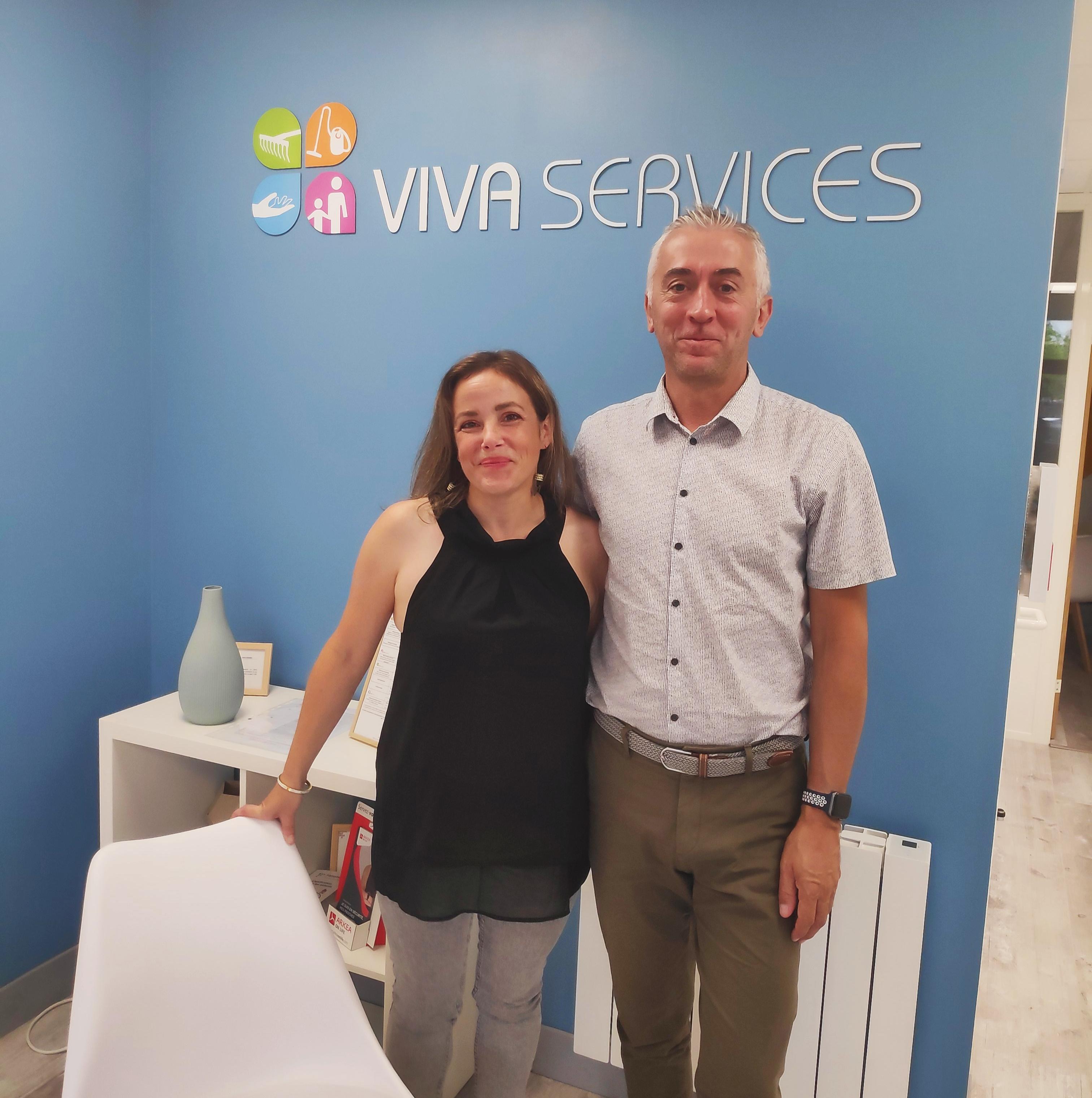 Gwenaëlle Besnault et Laurent Lemaitre - Vivaservices