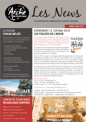 Les news de l'Arche - Avril 2018 N° 2