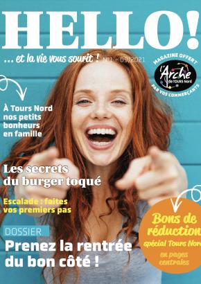 Couverture du magazine Hello ! n°1