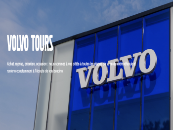 Volvo tours Nord