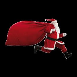 Pere Noel de l'arche de tours nord